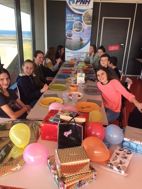 anniversaire enfants au PNH avec goûter et cadeaux