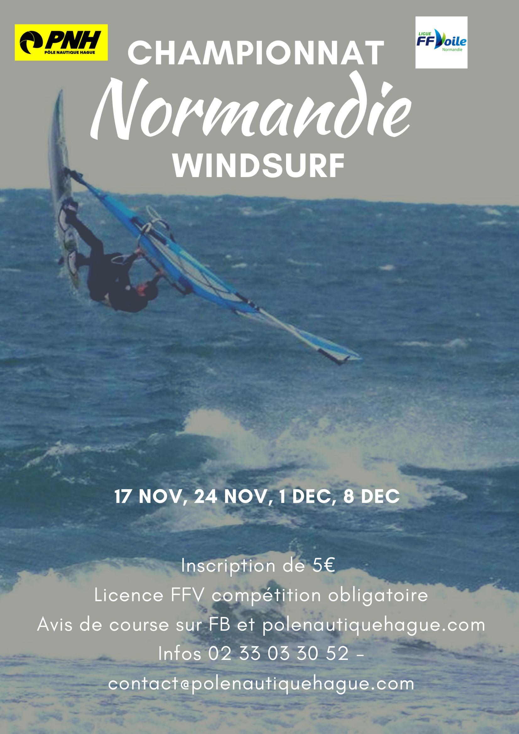 Championnat Normandie Vagues Windsurf Pole Nautique De La Hague Pnh